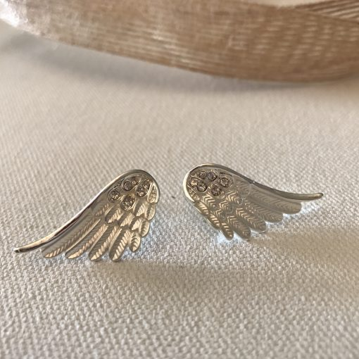 wing earrings petite