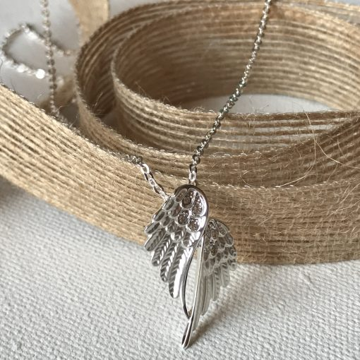 Petite Wing Necklace