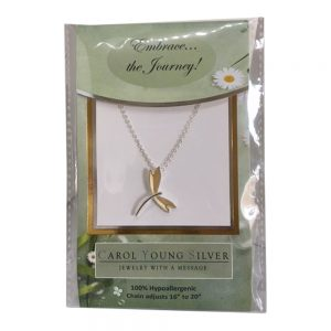 Petite Dragonfly Necklace on Card