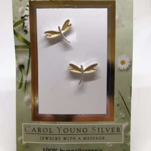Dragonfly E/R – Petite, two-toned on Card