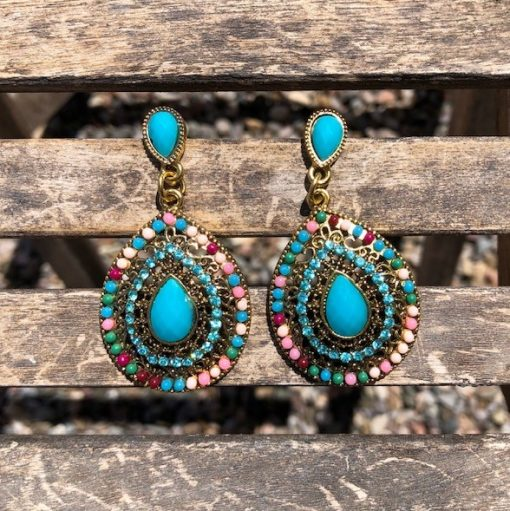 Boho Southwest Drop Earrings
